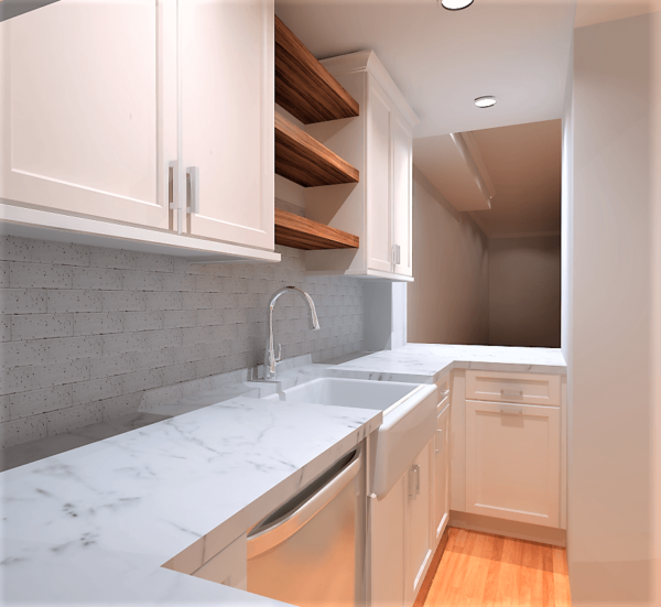 Kitchen Remodel Inspiration: Historic DC Townhouse