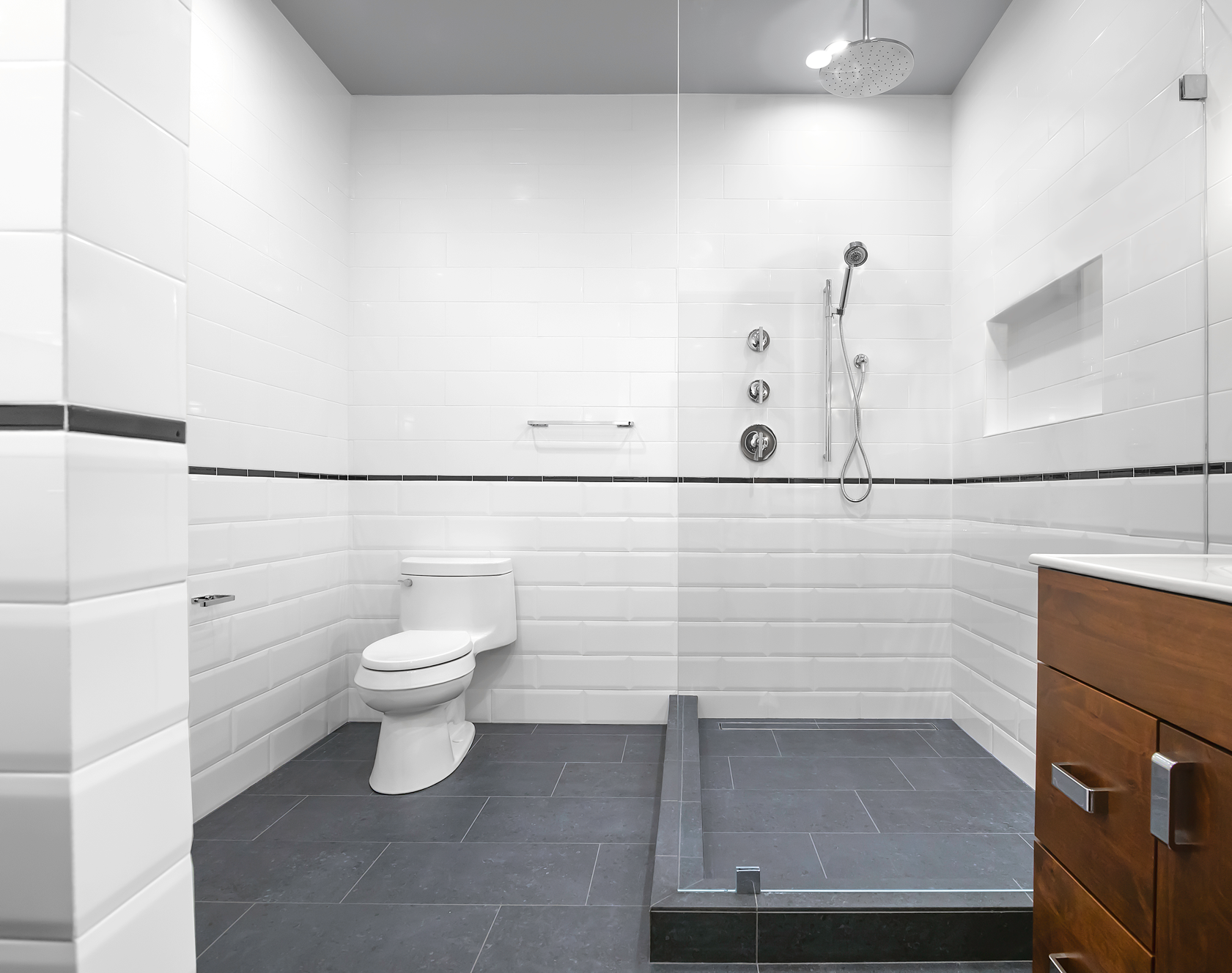 Old Town Alexandria Master Bath Remodel